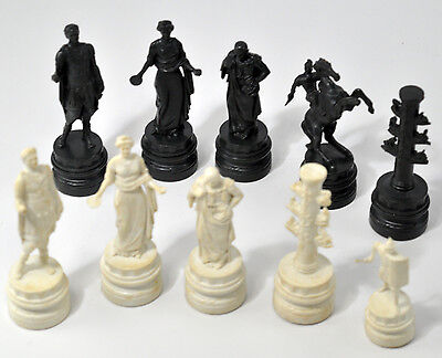 Replacement Chess Piece Classic Games Ancient Rome King Queen Knight Room Pawn