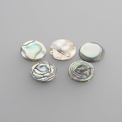 Real Pearl flat Oval 10 x 8 mm (PICTURE FROM ROUND) / BOX 4