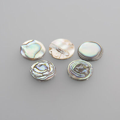 Real Pearl flat Oval 12 x 10 mm (PICTURE FROM ROUND) / BOX 4