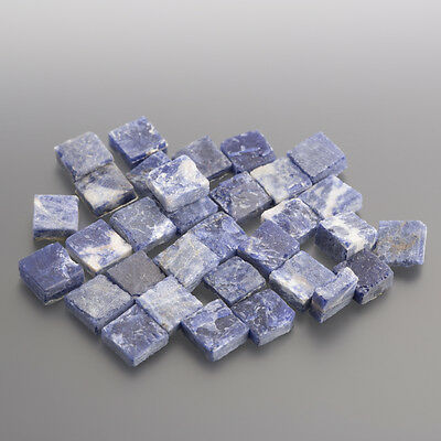Sodalite Cabochon knock-out Quadrato 7 x 7 mm / SCATOLA