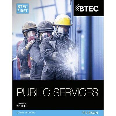 BTEC First in Public Services: Student Book (BTEC First - Paperback NEW Ms Debra