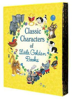 Classic Characters of Little Golden Books by Elizabeth Benedict Hardcover Book (