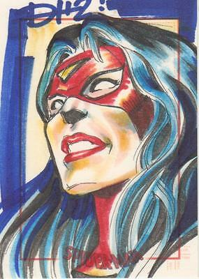 Spider-Man Archives -  Hillsman Sketch Card