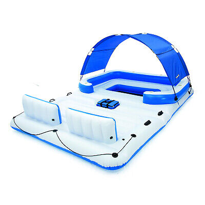 Bestway CoolerZ Tropical Breeze 6-Person Floating Island Lounge | 43105E