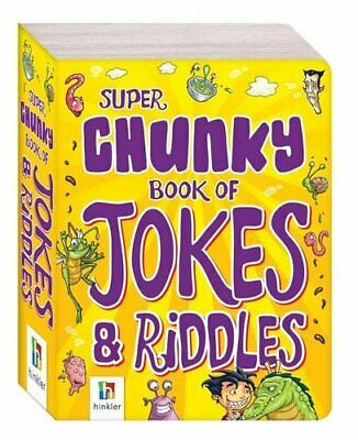 Super Chunky Book of Jokes and Riddles (Pocket Pals S... by Hinkler Books PTY Lt