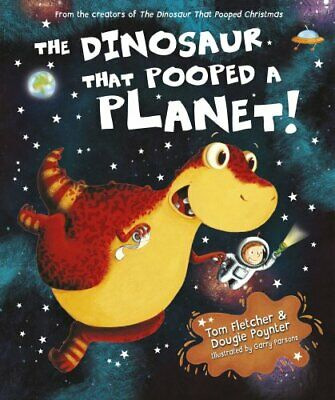 The Dinosaur That Pooped A Planet! by Poynter, Dougie Book The Cheap Fast Free