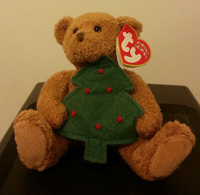 """Ty Jingle Beanie Baby ~ TWINKLING the (4.5"""") Holiday Bear ~ MINT with MINT TAGS"""