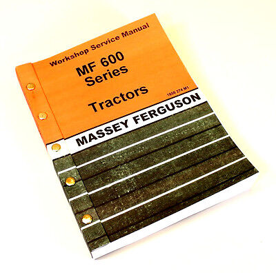 MASSEY FERGUSON MF680 680 Tractor Service Repair Manual Workshop ...