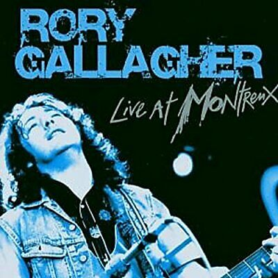 Rory Gallagher - Live At Montreux (NEW CD)