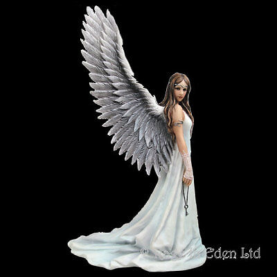 *SPIRIT GUIDE* Fantasy Angel Art Resin Figurine By Anne Stokes