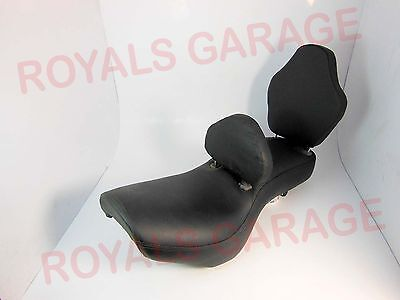 Front Rear Seat Backrest Comfort Touring Ride For Royal Bikes Enfield Classic