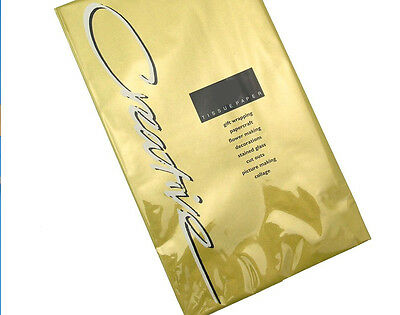 5 Sheets of Gold Tissue Paper | Gift Wrap Supplies