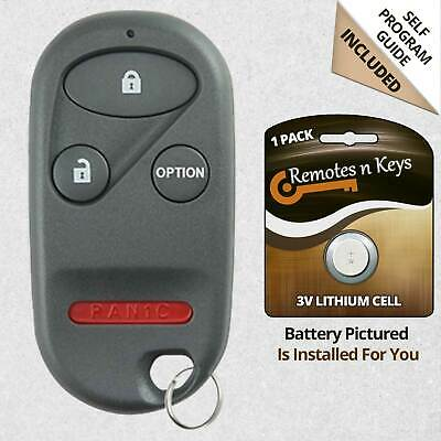 For 1996 1997 1998 1999 2000 Honda Accord Civic CR-V Odyssey Remote Key Fob