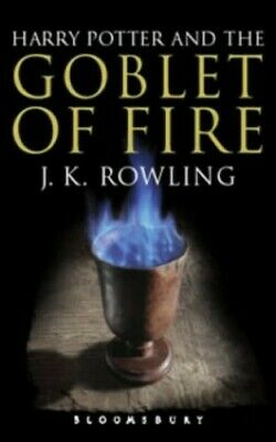 Harry Potter and the Goblet of Fire (Book 4): Adu... by Rowling, J. K. Paperback