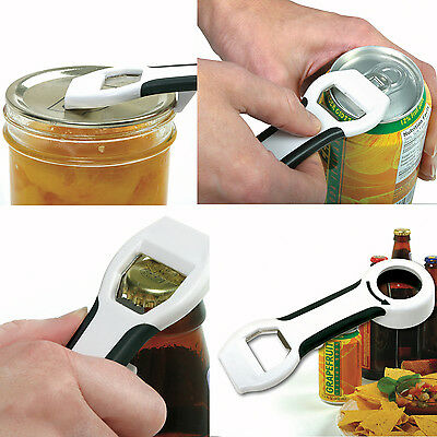 NORPRO 450 Grip-EZ 4 in 1 Can Bottle Canning Lid Pop Beer Tab Opener