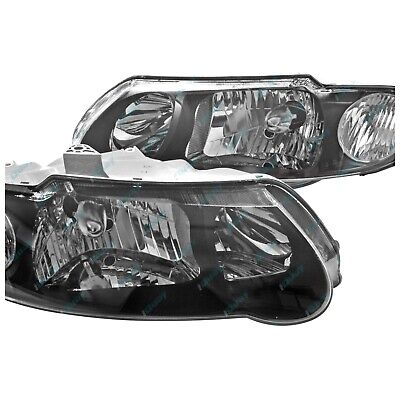 Holden VX VU Commodore SS Black Altezza Headlights LH & RH NEW PAIR