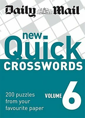Daily Mail: New Quick Crosswords 6 (The Daily Mail Pu... by Daily Mail Paperback