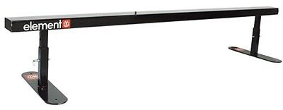 Element BLACK 6' FLATBAR Skateboard GRIND RAIL