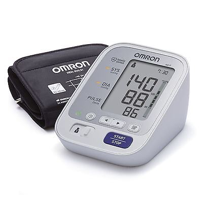 Omron M3 IT Upper Arm Blood Pressure Monitor USB with Easy Cuff 22-42 cm New