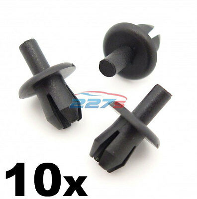 10x Vauxhall Astra Front Wheel Arch Liner Clips- Inner Wing Splashguard Clips