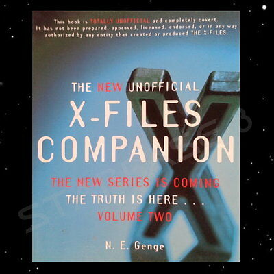 THE NEW UNOFFICIAL X-FILES COMPANION VOL. 2 - (Portofrei ab 3 Artikel)