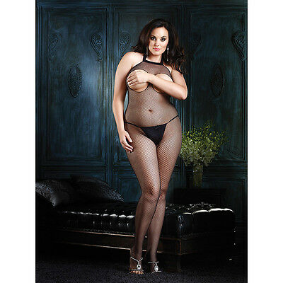 Sexy Plus Size Catsuit Bust Out / Bodystocking / Große Größen / 3240910100