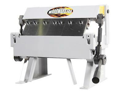 "Sheet Metal Box and Pan Brake Steel Frame 12""Maximum W 20-Gauge Capacity"