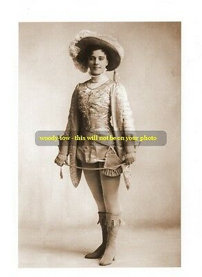 mm168 - stage actress Hetty King in panto - photo 6 x4""