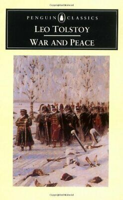War and Peace (Penguin Classics), Tolstoy, Leo Paperback Book The Cheap Fast