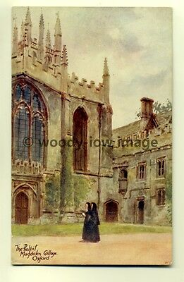 ar0048 - Nuns at the Pulpit, Magdalen College, Oxford - Postcard