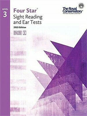 4S03 - Royal Conservatory Four Star Sight Reading and Ear Tests Level 3 Book