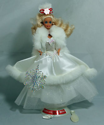 Happy Holiday Barbie Doll 1989, Holiday Special Edition Mint NO BOX - 03523