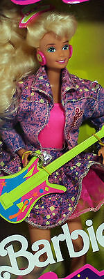 Barbie and the Beat Barbie 1989, Mint NO BOX - 02751