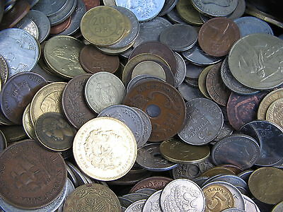 100 Very Good Clean World Coins Some Very Old Not Full Of Us Cents Free Uk Post
