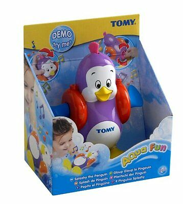 TOMY Splashy the Penguin Baby Toddler Kids Children Musical Bath Time Toy