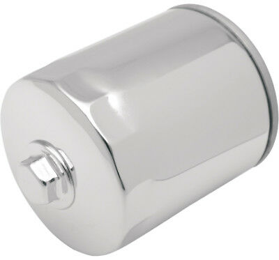 Drag Specialties Spin-On Oil Filter with Nut For Harley Chrome 0712-0011