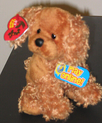 Ty Beanie Baby BB 2.0 ~ FROLICS the Dog ~ MINT with MINT TAGS ~ Stuffed Animal