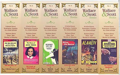 Classic Book Covers,Bookmarks,Pick your number 1-52