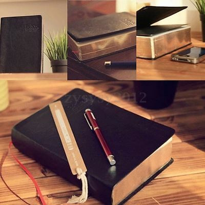 Blank Leather Notebook Vintage Classic Journal Diary Book Thick Sketchbook Cover
