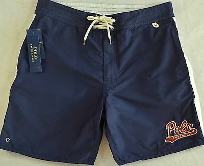 ae631aaa9e Polo Ralph Lauren Swim Trunks Swimming Board Lined Surfing Shorts 38 NWT