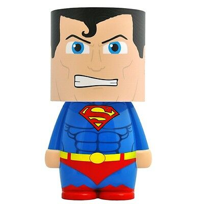 Official DC Comics Superman Look-Alite LED Character Mood Light Lamp - Night New