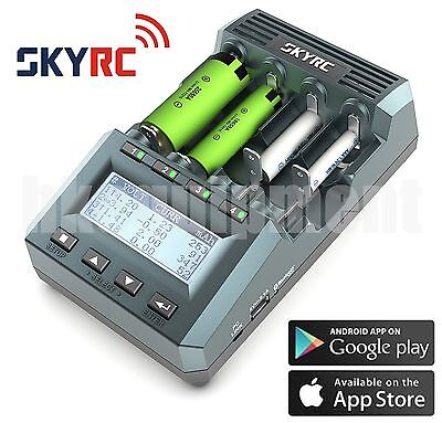 Skyrc Mc3000 Universal Battery Charger Analyzer Iphone / Android App Eu