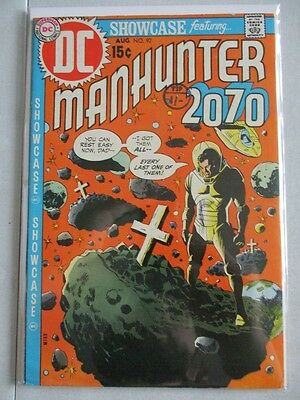 Showcase (1956-1978) #92 VF- Origin of Manhunter 2070