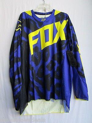 FOX racing adult men's motocross jersey 360 MARZ size EXTRA EXTRA LARGE PURPLE