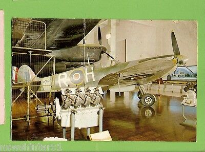 #m.  Wwii Fighter Aircraft  Museum Card