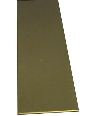 "K&S 8241 Brass Strip, 12"" Long"