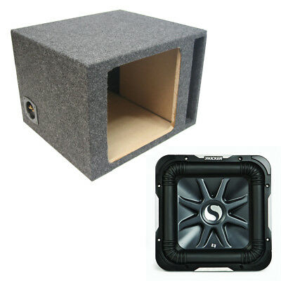 "Kicker Refurbished 11S15L7 Solobaric 15"" L7 D4 2000W Subwoofer Sub Box Enclosure"