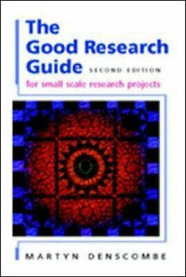 The Good Research Guide: For Small-scale Socia... by Denscombe, Martyn Paperback
