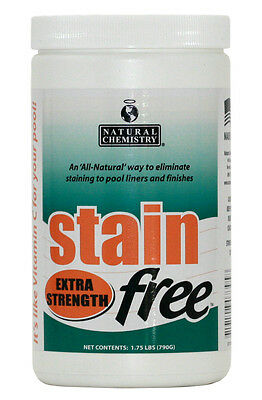 Natural Chemistry 07395 STAINfree Extra Strength Metal Stain Remover - 1.75 lbs