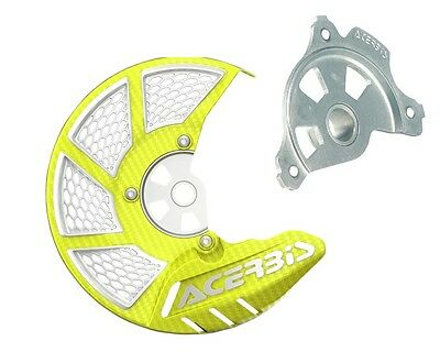 Acerbis Yellow Disc Cover Mount For KTM 125-500 SX XC 15-16